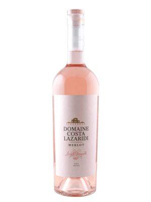 Κτήμα Κώστα Λαζαρίδη Domain Costa Lazaridi Merlot Rosé 750ml