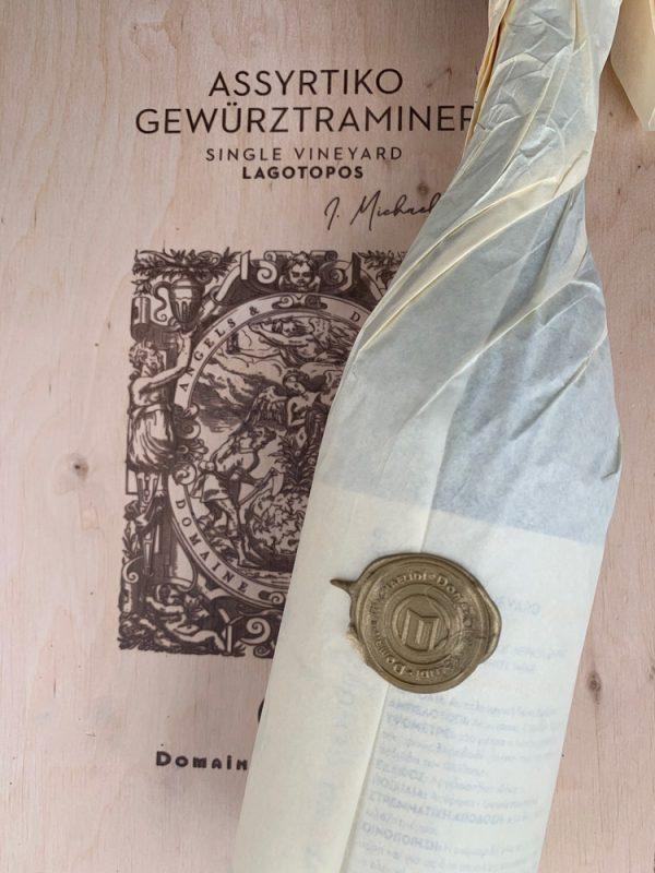 Κτήμα Μιχαηλίδη Ασύρτικο-Gewurztraminer Single Vineyard Λαγότοπος