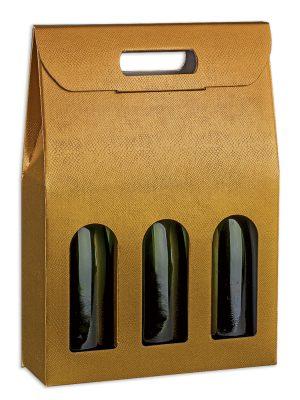 Τσάντα δώρου 3 φιαλών Skin Oro